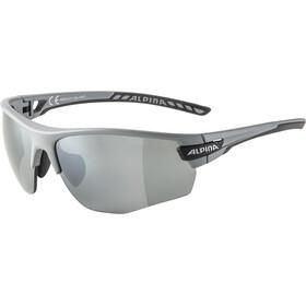 Alpina Tri-Scray 2.0 HR Occhiali, grey matt/black mirror